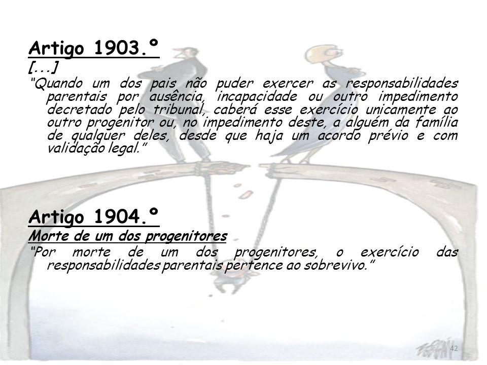 Artigo 1903.º [...]